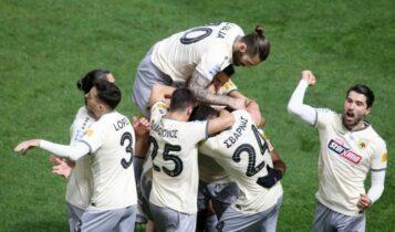 Super League: Η ΑΕΚ ανέβηκε 2η!