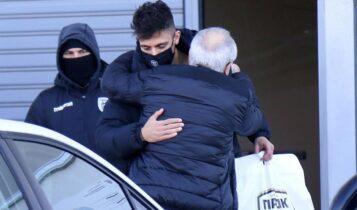 ΠΑΟΚ: Αποχαιρέτησε ο Γιαννούλης, πετάει αύριο για Αγγλία