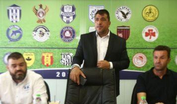 Λεουτσάκος για Super League 2: «Eνα από τα πιο συναρπαστικά πρωταθλήματα των τελευταίων ετών»