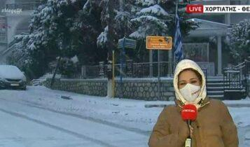 Βροχές και χιόνια σε Αθήνα και Θεσσαλονίκη (VIDEO)