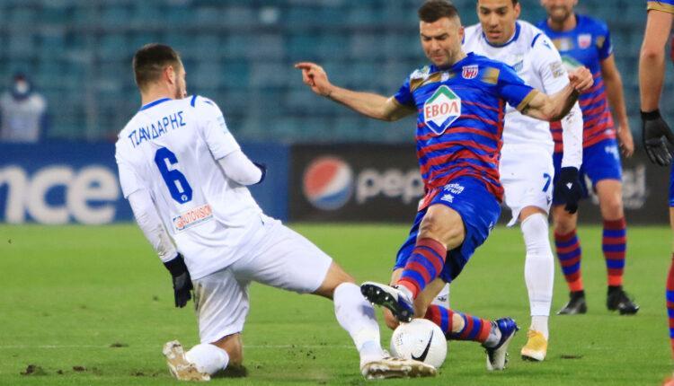 Super League: Ισοπαλία 1-1 ανάμεσα σε Βόλο και Λαμία