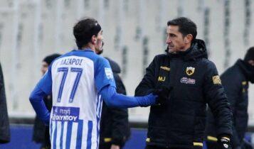Χριστοδουλόπουλος: «Δεν είναι η ΑΕΚ του Χιμένεθ αυτή, το 2018 ήμασταν καλύτερη ομάδα»