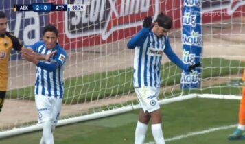 ΑΕΚ-Ατρόμητος: 2-1 με πέναλτι του Λάζαρου (VIDEO)