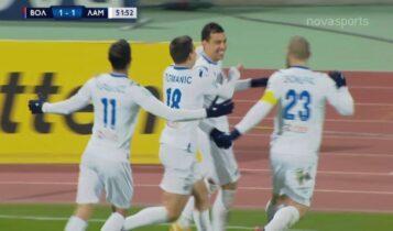 Βόλος-Λαμία: Αμεσο 1-1 με Ντέλετιτς και... VAR (VIDEO)