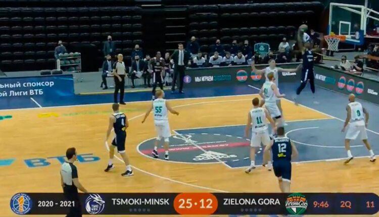 Τσμόκι Μινσκ: Ηττα πριν την ΑΕΚ, έχασε με 75-80 από την Ζιέλονα Γκόρα