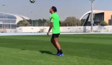 Φαν Ντάικ: Επέστρεψε στο γήπεδο! (VIDEO)