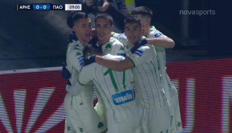 Αρης-Παναθηναϊκός: 0-1 με Καμπετσή (VIDEO)