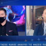 Κάκος: «Δεν υπάρχει φάουλ στο γκολ του Ολυμπιακού» – Χαμός στο στούντιο (VIDEO)