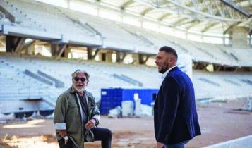 Λέκκας: «Σημαντικό έργο η Αγιά Σοφιά-OPAP Arena, θα ομορφύνει η Νέα Φιλαδέλφεια»
