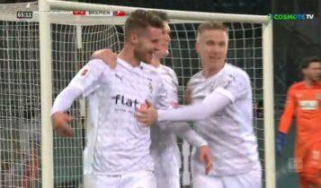 Γκλάντμπαχ-Βέρντερ Βρέμης: 1-0 με Ελβέντι (VIDEO)