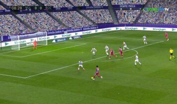 La Liga: «Αυτοκτονία» της Ελτσε στο Βαγιαδολίδ (VIDEO)