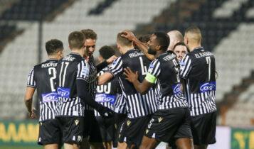 Κύπελλο: Ο ΠΑΟΚ έβαλε τους βασικούς και κέρδισε 5-0 τη Λάρισα (VIDEO)