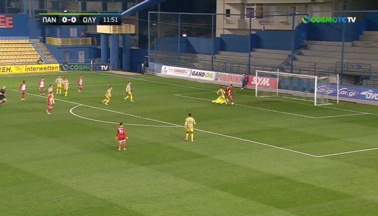Παναιτωλικός-Ολυμπιακός 0-3: Ετσι μπήκαν τα γκολ (VIDEO)