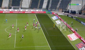 ΠΑΟΚ-Λάρισα: 4-0 με σουτ του Ινγκασον (VIDEO)
