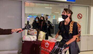 Survivor: Η Κάτια Ταραμπάνκο επέστρεψε στην Ελλάδα (VIDEO)