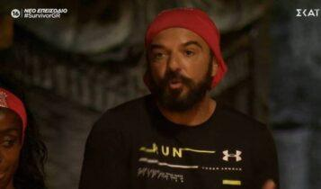 Survivor: Ο Τριαντάφυλλος έβγαλε... στη σέντρα την Ελευθερίου (VIDEO)
