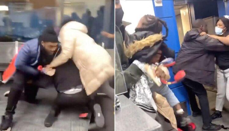 Ξύλο ανάμεσα σε υπαλλήλους αεροπορικής και επιβάτες -Πιάστηκαν στα χέρια για τον πιο απίθανο λόγο (VIDEO)