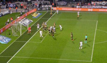 ΠΑΟΚ-ΑΕΚ: Το καθαρό οφσάιντ του Μαουρίτσιο και η τσαμπουκαλεμένη κατάκτηση του πρωταθλήματος (VIDEO)