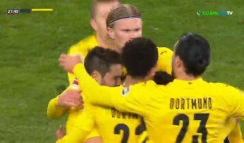 Τρομερό ημίχρονο στο Γκλάντμπαχ-Ντόρτμουντ με 4 γκολ (VIDEO)