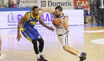 Basket League: «Πάτησε» το Περιστέρι ο Κολοσσός με 80-65 (VIDEO)