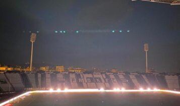 Πρόβλημα με τον φωτισμό στην Τούμπα -Εχουν σβήσει οι πυλώνες (ΦΩΤΟ)