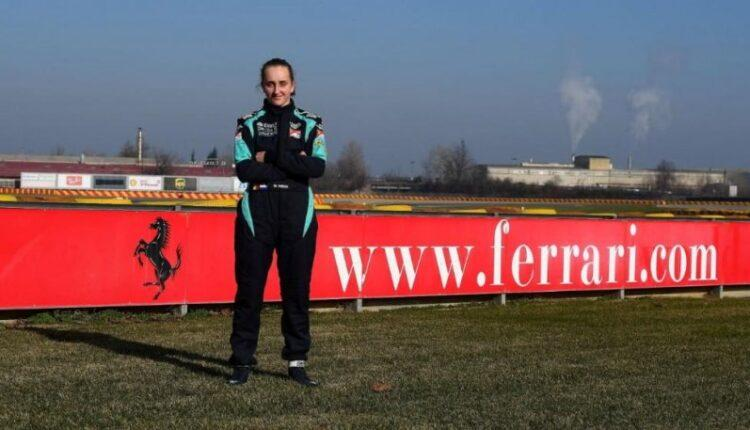 H πρώτη γυναίκα οδηγός στην Ακαδημία της Ferrari (ΦΩΤΟ)