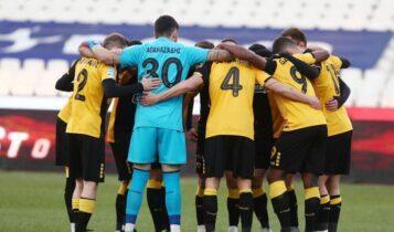 ΑΕΚ-ΠΑΣ Γιάννινα: Η κριτική των 16 ποδοσφαιριστών της Ενωσης