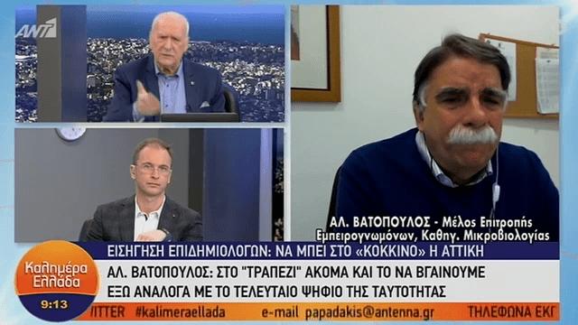 Βατόπουλος: «Πιθανή η κυκλοφορία με βάση τον αριθμό ταυτότητας» (VIDEO)