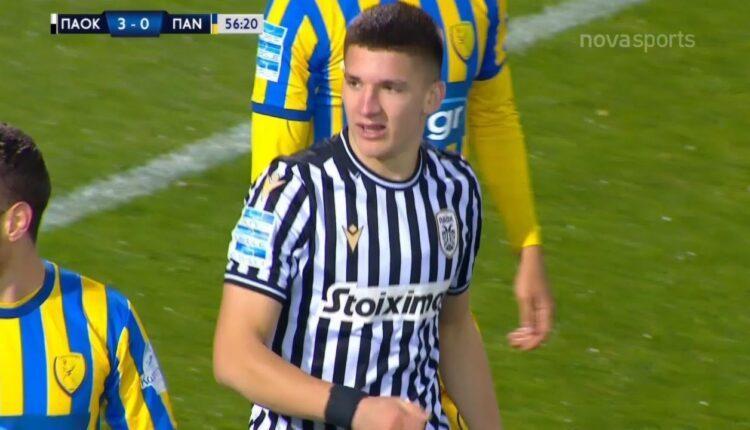 ΠΑΟΚ-Παναιτωλικός: 3-0 με σουτ του Τζόλη (VIDEO)