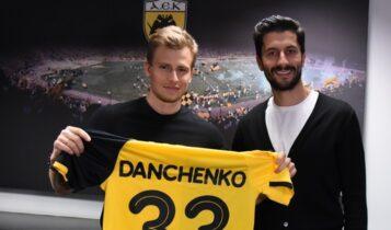 Νταντσένκο: Με αυτό το νούμερο θα αγωνίζεται με την ΑΕΚ!