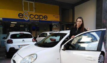 ΑΕΚ: Η Πέροβιτς παρέλαβε το αυτοκίνητό της από την ESCAPE RENTALS (ΦΩΤΟ)