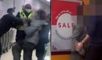 Λονδίνο: Απίστευτο ξύλο σε σούπερ μάρκετ, πελάτης έστειλε στο νοσοκομείο εργαζόμενο (VIDEO)