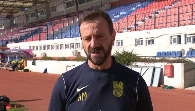 Μάντζιος: «Νίκη με ΑΕΚ, όπως σε κάθε ματς» (VIDEO)