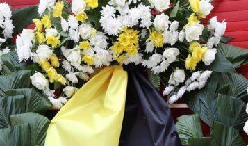 ΑΕΚ: Τίμησε τα θύματα της Θύρας 7  -Κατέθεσε στεφάνι (ΦΩΤΟ)