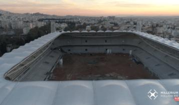 Πάμε… βόλτα πάνω από την «Αγιά Σοφιά-OPAP ARENA» -Πτήση με drone, μαγικές εικόνες (VIDEO)