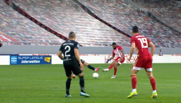 Ολυμπακός-ΟΦΗ: 1-0 με πλασέ του Εμβιλά (VIDEO)