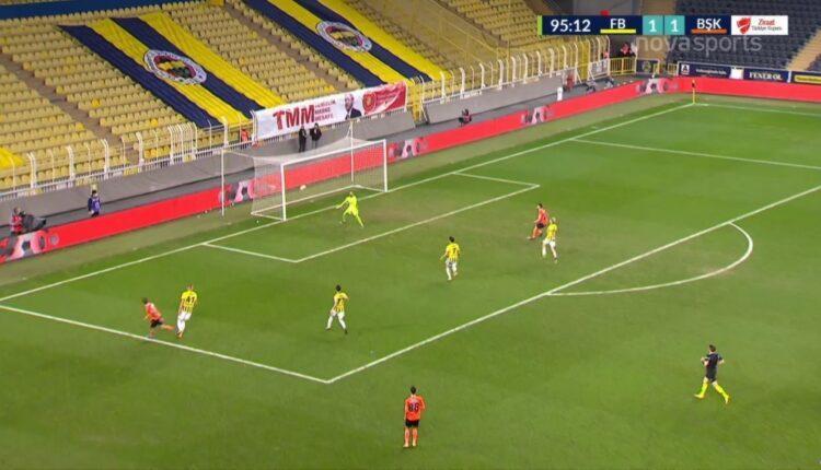 Φενερμπαχτσέ-Μπασακσεχίρ: Απίθανο γκολ για τους φιλοξενούμενους! (VIDEO)