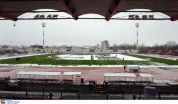 ΑΕΚ: Παγετός και χιόνια την Κυριακή στη Λάρισα σύμφωνα με τις προβλέψεις (ΦΩΤΟ)