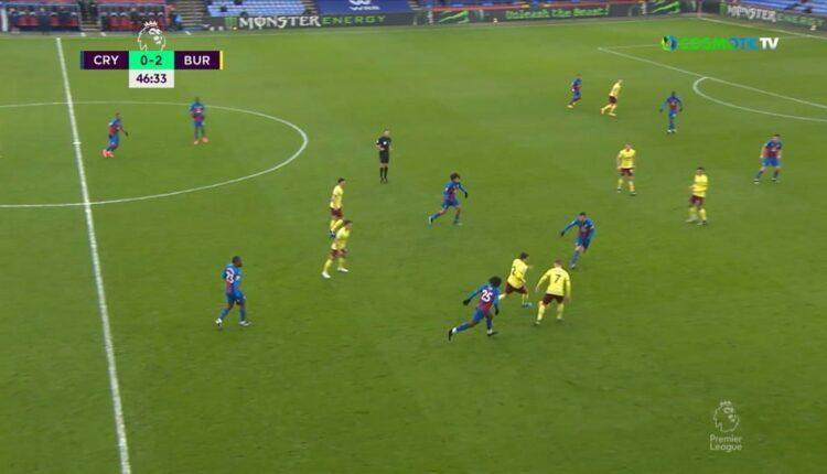 Premier League: Τρομερό γκολ από το δεξί μπακ της Μπέρνλι -Πέρασε τη μισή Πάλας (VIDEO)