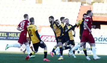 Αυτά τα κάνει μόνο η ΑΕΚ – Νίκη (4-2) σε ματς θρίλερ με τη Λάρισα (VIDEO)