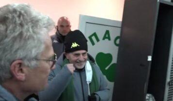 Παναθηναϊκός: «Bonus, bonus» φώναζαν στον Αλαφούζο οι παίκτες (VIDEO)