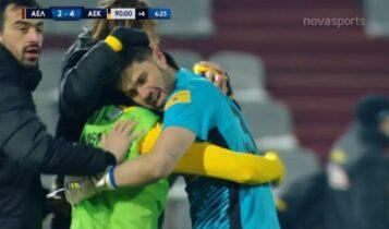 ΑΕΛ-ΑΕΚ: Τρομερή φάση-Πιάνει πέναλτι ο Αθανασιάδης και... 2-4 ο Σιμάνσκι! (VIDEO)