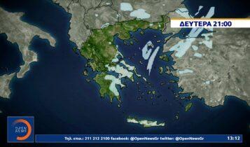 ΕΜΥ: Θα ενταθούν το απόγευμα οι χιονοπτώσεις στην Αττική -Πού αλλού θα χιονίσει (VIDEO)