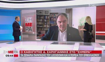 Σαρηγιάννης: «Από αύριο αποκλιμάκωση της πανδημίας στην Αττική -Να παραταθεί μια εβδομάδα το lockdown» (VIDEO)