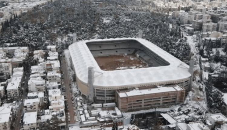 «Αγιά Σοφιά-OPAP Arena»: Χιονισμένο... ταξίδι πάνω από το στολίδι της ΑΕΚ (VIDEO)