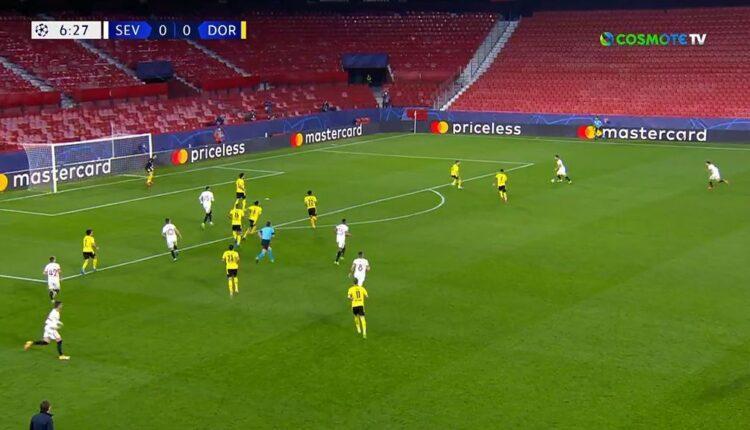 Η Ντόρτμουντ 3-2 στη Σεβίλλη! (VIDEO)