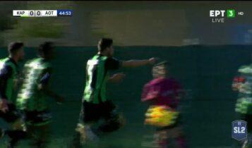 Καραϊσκάκης - Τρίκαλα: Ο Γιαννιώτης το 1-0 με κεφαλιά (VIDEO)