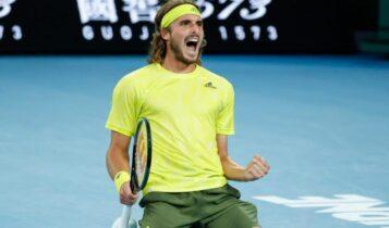 Australian Open: Θρίαμβος του Στέφανου Τσιτσιπά επί του Ναδάλ, νίκησε 3-2 με ολική ανατροπή