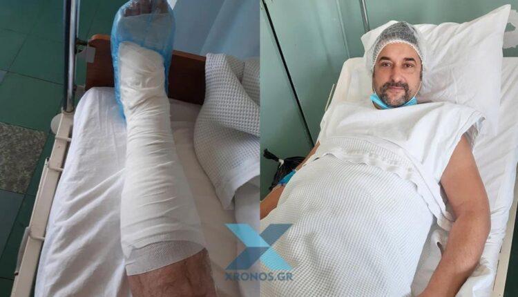 «Παραγγέλνουν, ενώ έξω χιονίζει»: Οι καταγγελίες διανομέα που έσπασε το πόδι του στην κακοκαιρία