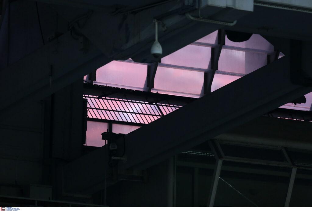 Εικόνες πριν από τη σέντρα του ΑΕΚ-Αστέρας Τρίπολης